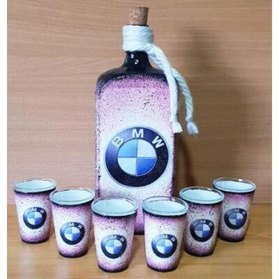 Üvegek és poharak készítése(autós)