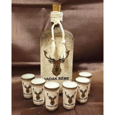 Egyedi üvegek és poharak készítése