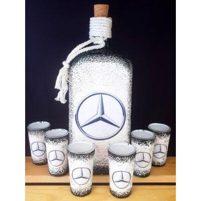 Üvegek és poharak készítése