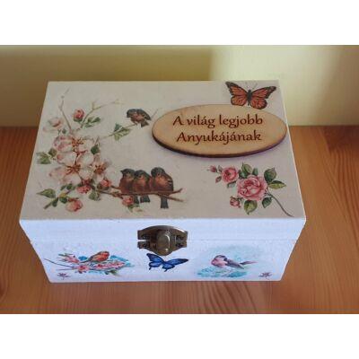 Madárkás doboz(A világ legjobb anyukájának)
