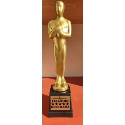Oscar szobrok egyedi szöveggel